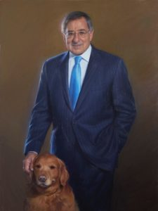 Government Portrait Leon Panetta, Former Director of the Central Intelligence Agency