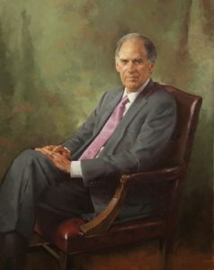 Executive Oil Portrait of William B. Harrison, former Chairman/CEO, JPMorgan Chase