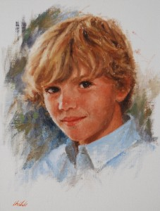Boys Pastel Portrait