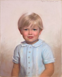 Boys Pastel Portrait From Life