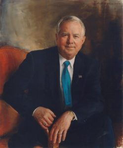 Executive Oil Portrait of Archie Dunham, former Chairman/CEO, Conoco Phillips