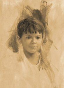 Jdanielportraits Boy Charcoal portrait