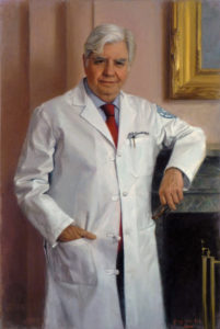 Oil Portrait of Medical Professionals