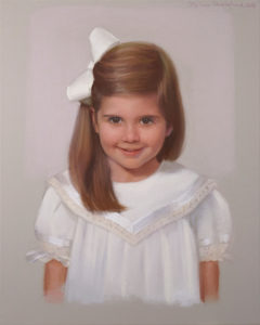 Girls Pastel Portraits