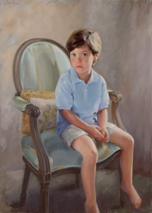 Boys Oil Portrait